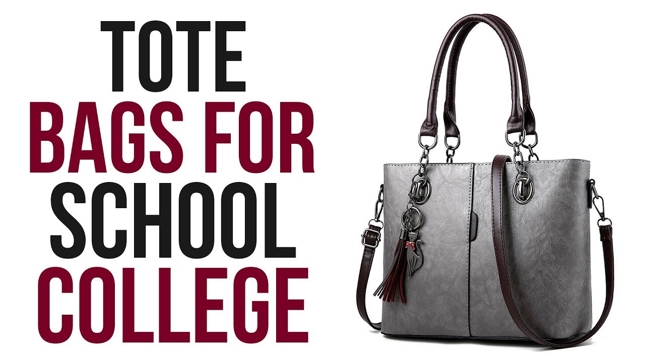 Best tote bags for school college - YouTube 5d691c55820bf