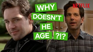 Paul rudd was 26 in 1995 when he filmed clueless and 50 2019 starred living with yourself. the man doesn't age?!living yourself s01 - now ...