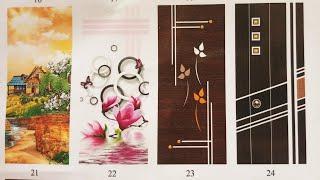 High glossy door designs for bedroom