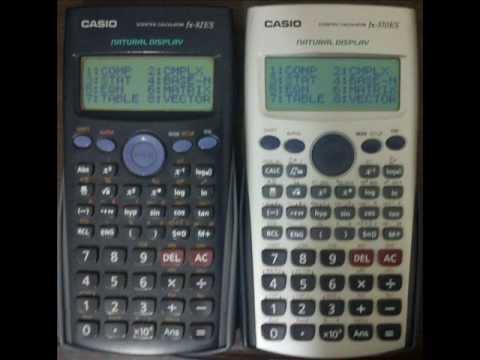 Tut How To Upgrade Your Casio Fx 82 Es 570
