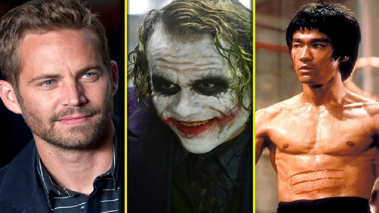 افضل ممثلين هوليود في التاريخ ماتوا قبل أن يكملوا تصوير أفلامهم الأخيرة !