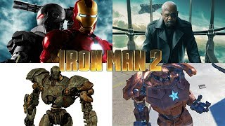 IRON MAN 2 - ALL BOSS BATTLES (Xbox 360)