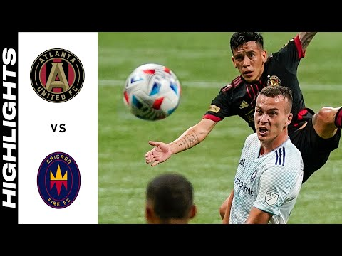 Atlanta United Chicago Goals And Highlights