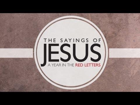 Matthew 25:40 The Sayings of Jesus