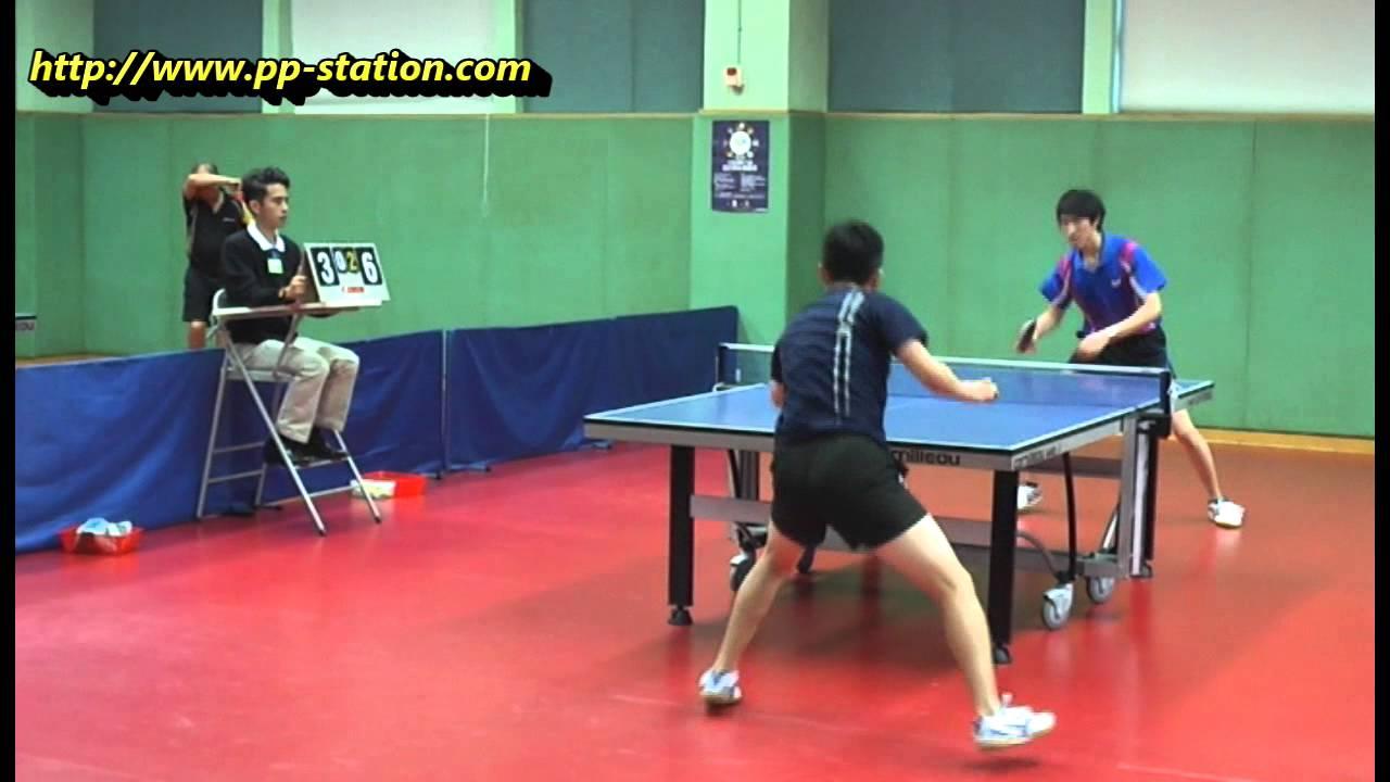 2015 香港乒乓排名賽 賀方正 對 楊智正 - YouTube