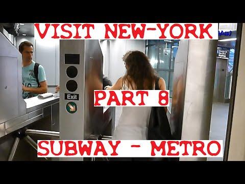 METRO DE NEW YORK - VISIT MANHATTAN - SUBWAY
