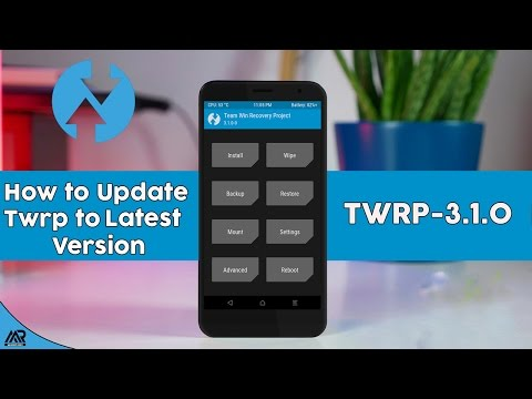 How to Update TWRP Recovery to Latest Twrp-3.1.0 Version
