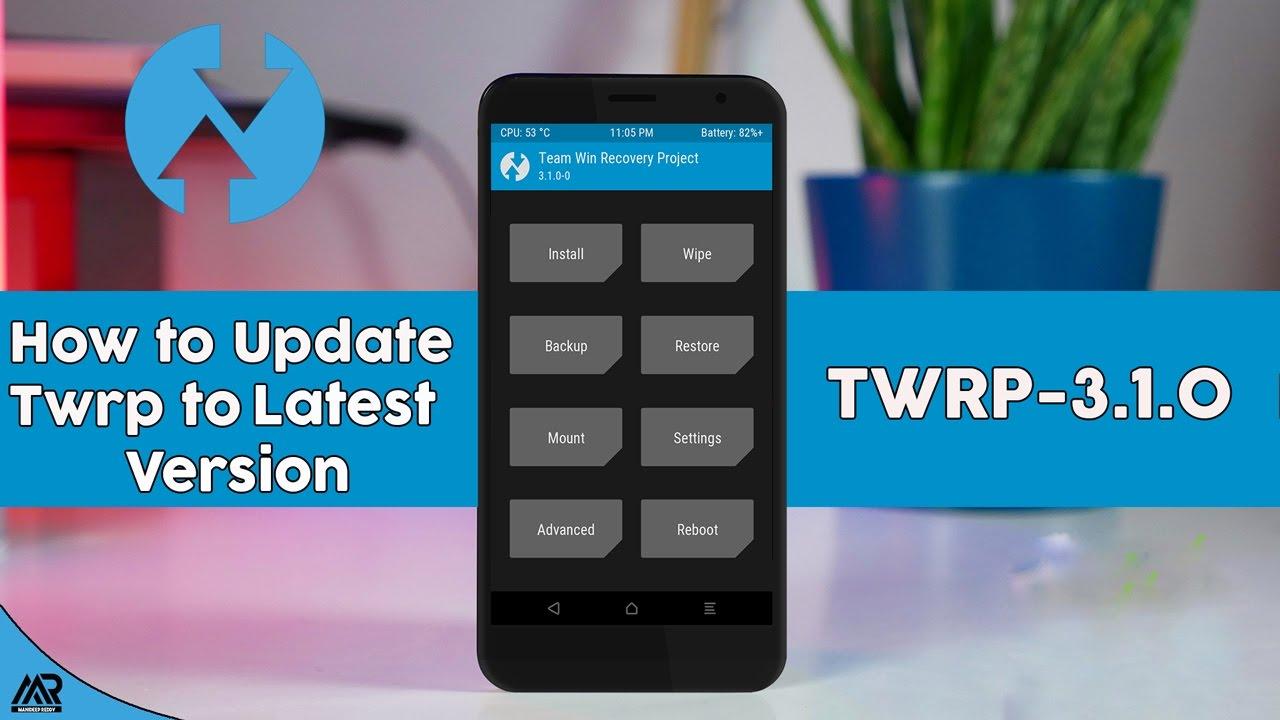 twrp latest version zip download