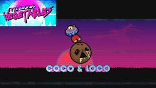 COCO & LOCO boss fight scene 1 the walking vegetables pc gameplay impressions