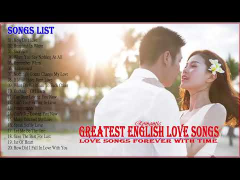 Meilleures chansons d'amour anglais 2018 - Love Songs Collection