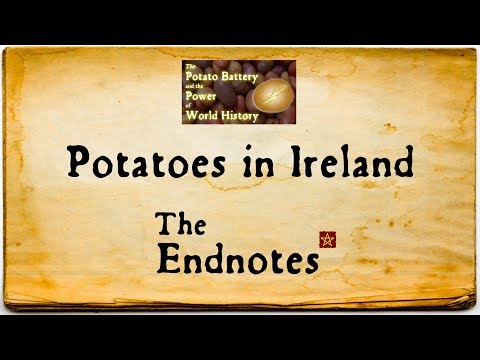 Potatoes in Ireland: The Endnotes