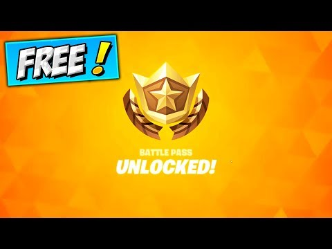 How To Get Chapter 2 Season 2 BATTLE PASS For FREE! Fortnite Season 12 Unlock FREE Battle Pass
