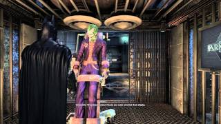 Batman: Arkham Asylum. Part 1. PC Max Settings (Physx High) + Xbox 360 Controller. Gameplay HD