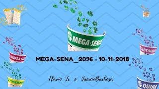 MEGA SENA 2096   10 11 2018