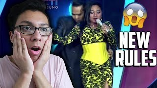 MARIA - NEW RULES (Dua Lipa) - Indonesian Idol 2018 I REACTION!