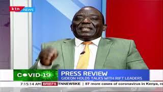 Four Rift Valley senators deserted the deputy president moments before 45 minute State House meeting