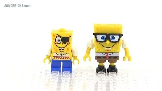 Lego & Mega Bloks Spongebob Squarepants Minifigs Compared!