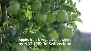 Apple, fruit & vegetable powders by Naturex in Switzerland