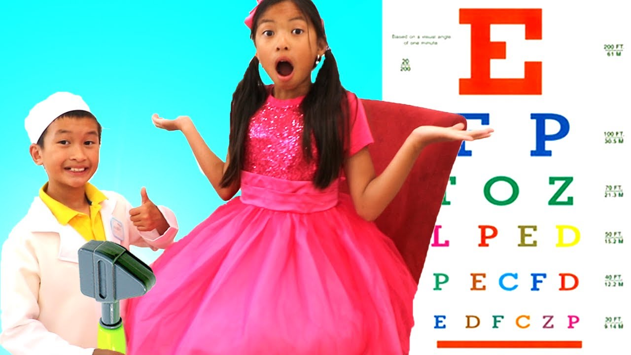 Doctor Checkup Song | Wendy Pretend Play Nursery Rhymes & Kids Songs