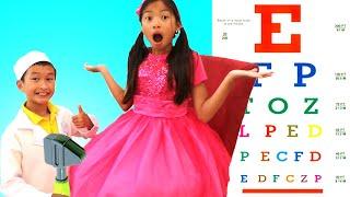 Doctor Checkup Song   Wendy Pretend Play Nursery Rhymes & Kids Songs