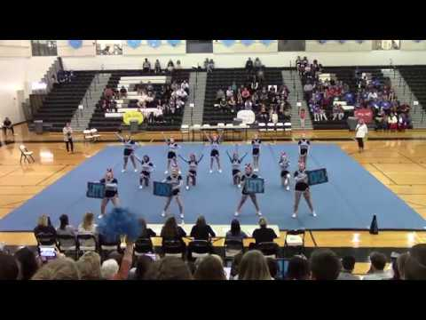 Eastern View High School at Battlefield District Cheer Competition 2017