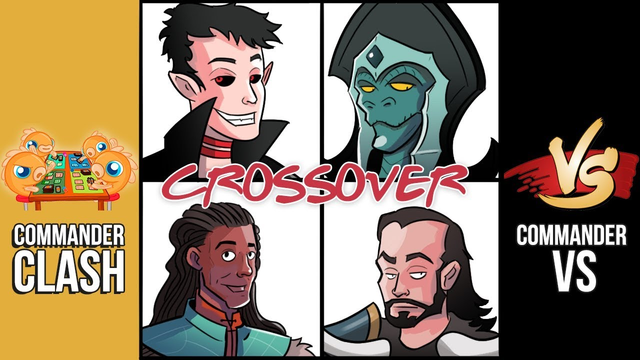 Commander Clash: Magic Fest Vegas Crossover Spectacular! (Commander 2019  Precons)