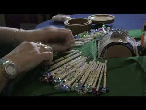 introduction to the process of Bobbin Lace Making