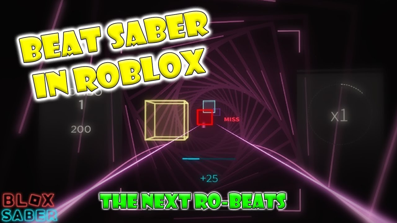 Beat Saber in ROBLOX (Blox Saber) - YouTube