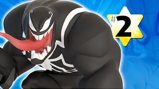 Прохождение Disney Infinity 2.0 Человек паук #2 Веном