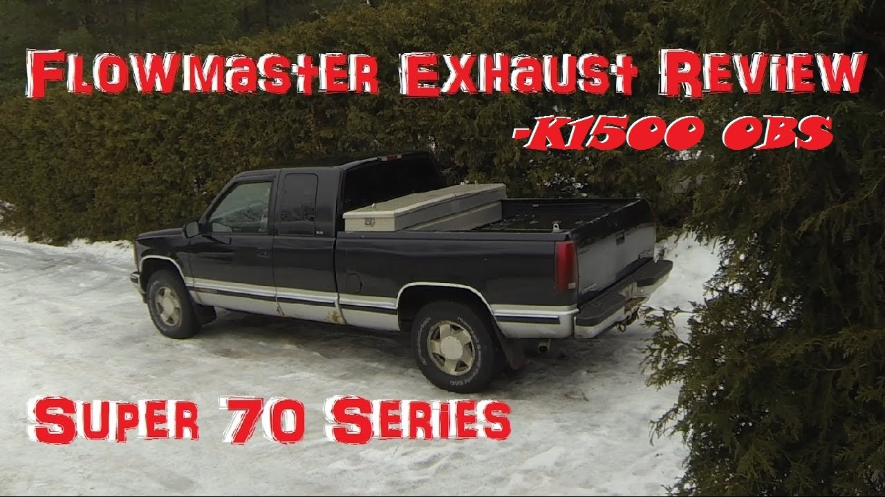 Diy Flowmaster Dual Exhaust Review 97 Gmc K1500 Youtube