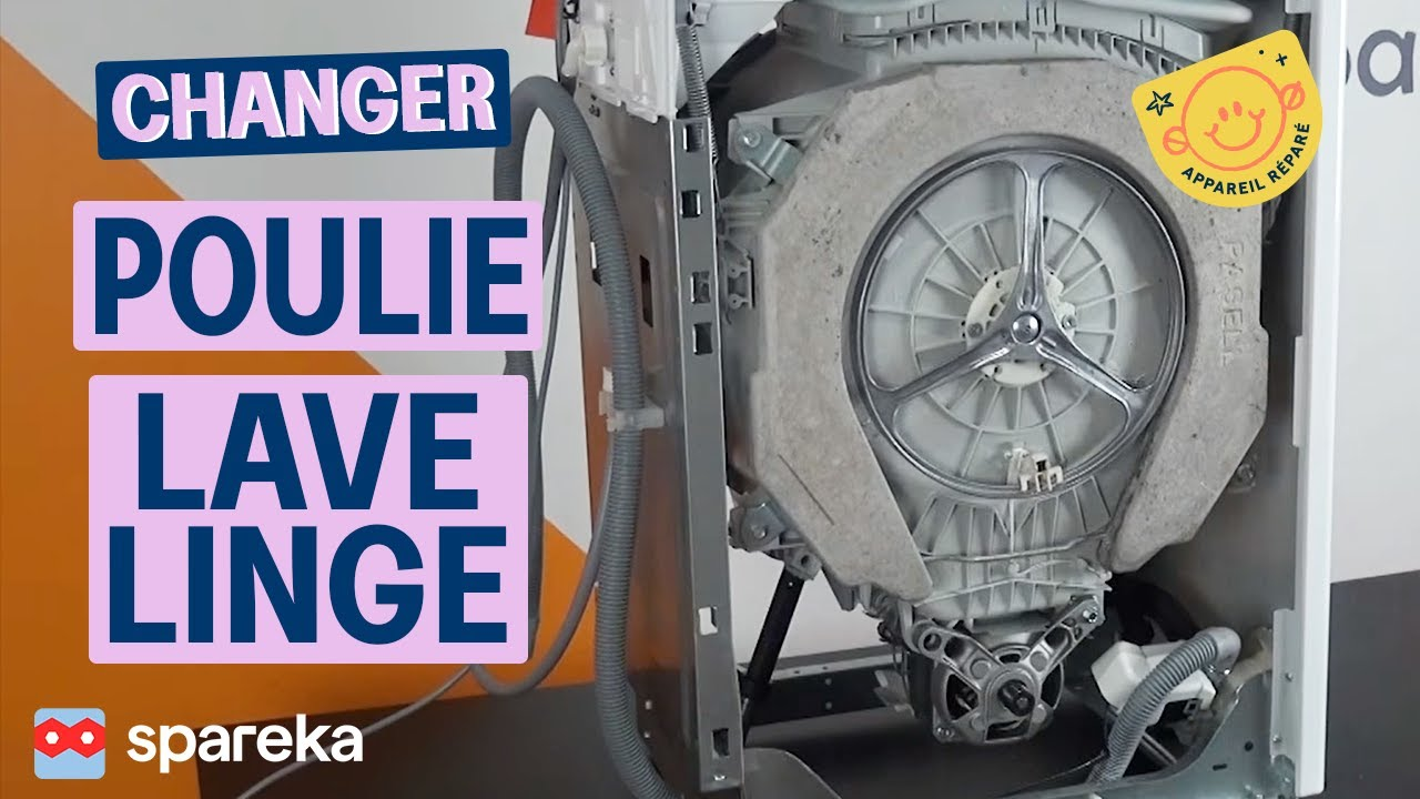 Comment changer la poulie de votre lave linge youtube - Vider machine a laver demenagement ...