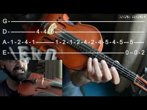 Janam Janam – Dilwale Violin tutorial | Urdu | Hindi | Easy Music Tutorials thumbnail