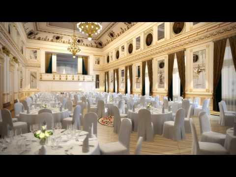 Grand Ballroom at Corinthia Hotel Budapest
