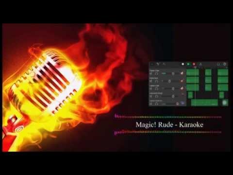 Magic! Rude Karaoke HD
