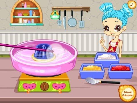 Color Girls Homemade Snacks - Game for Girls