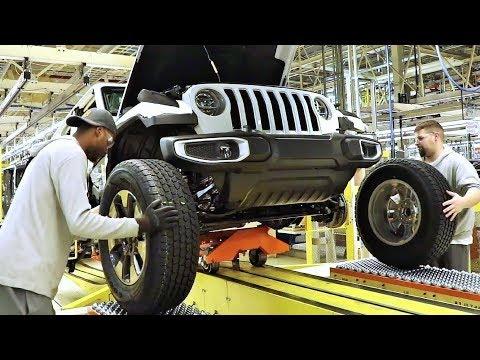 2019 Jeep Wrangler Production