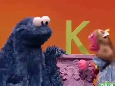 sesame street letter of the day sesame cookie s letter of the day k 10711 | hqdefault