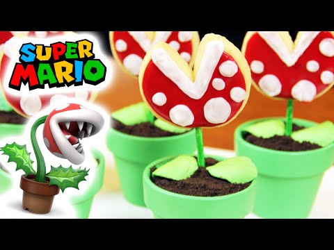 Download MARIO PIRANHA COOKIE POPS - NERDY NUMMIES Snapshots