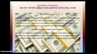 Agricultural Engineer Close | Highest paying jobs in America | fastest growing careers