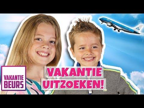 NAAR DE VAKANTIEBEURS!! ✈️ - Broer en Zus TV VLOG #266