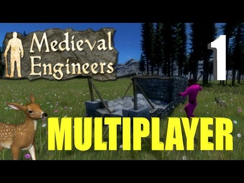 ★ Medieval Engineers Multiplayer ep1 | Modded Survival | Crafting