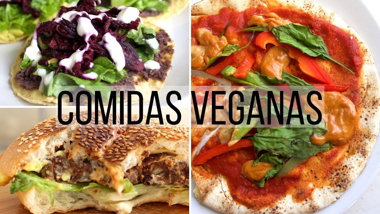 3 comidas f ciles r pidas y deliciosas youtube for Comidas rapidas y economicas