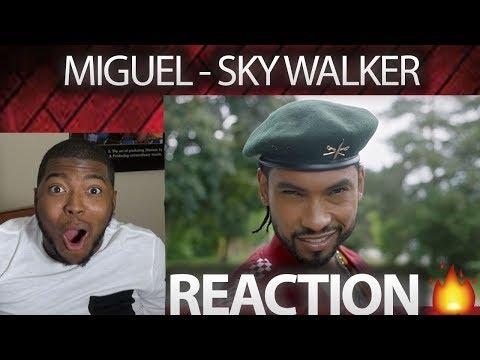 Miguel - Sky Walker  ft. Travis Scott VIDEO REACTION!!!!