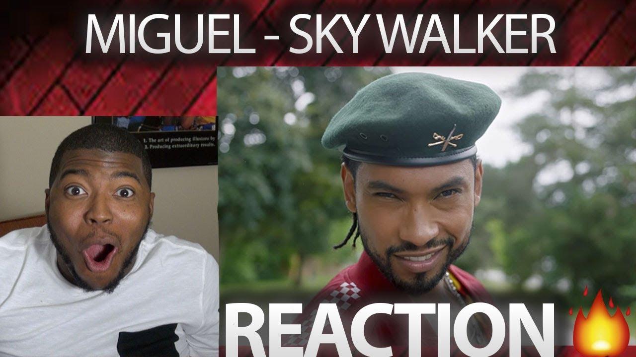 Miguel - Sky Walker (Official Video) ft. Travis Scott VIDEO REACTION!!!! - YouTube