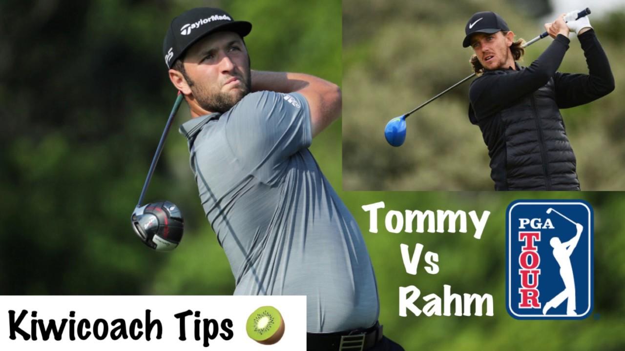 Jon Rahm Golf Swing Analysis Vs. Tommy Fleetwood Golf ...