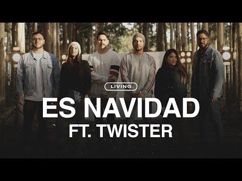 LIVING FT. TWISTER - Es Navidad  (Videoclip Oficial)