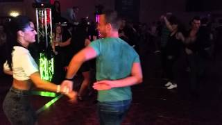 Ella Jauk & Gil Ashkenazi Social Dancing @ On2 Salsa Congress 2014