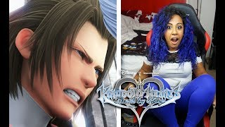 OOF GOT SPOILED WTF DID I JUST SEE??? | KINGDOM HEARTS BIRTH BY SLEEP LIVESTREAM!