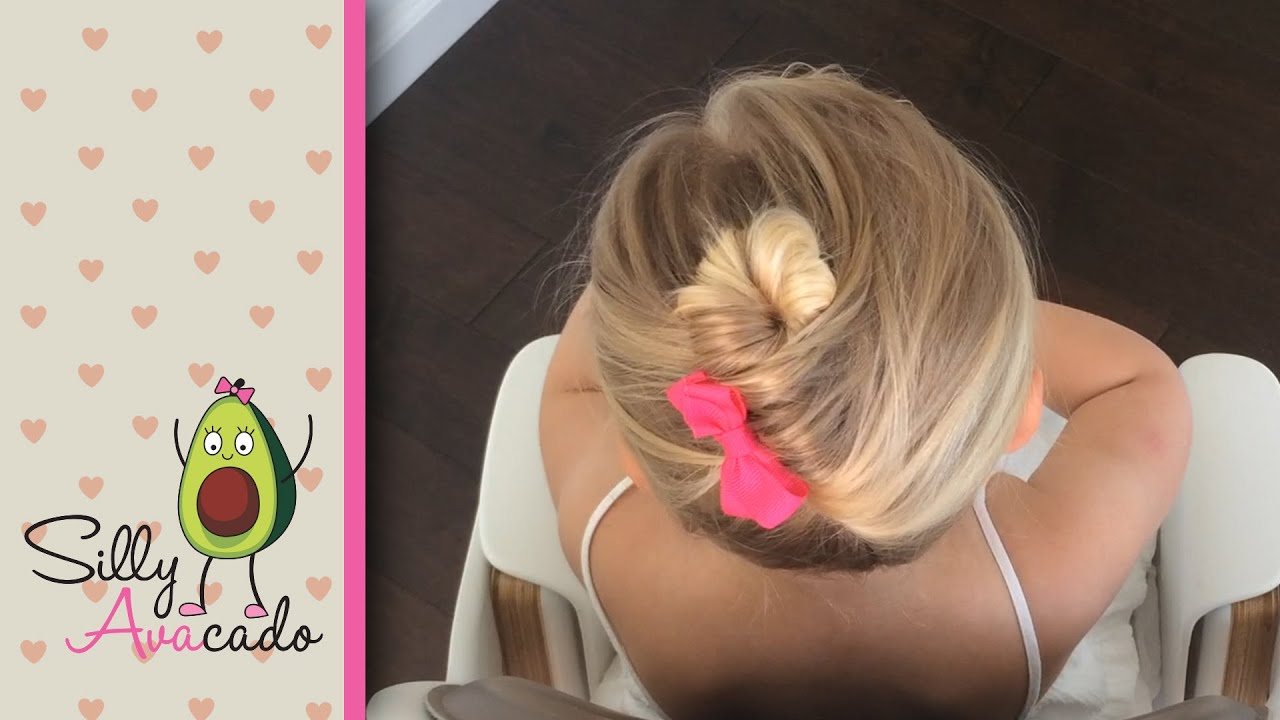 Hair Styles For A Dance: Two Easy Ballet Hairstyles For Little Girls! Ballerina