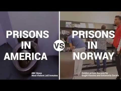 Opposing Views || American prison system vrs Norwegian prison system